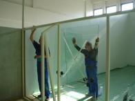 Üvegezés munkák hőszigetelt és hangszigetelő üveggel